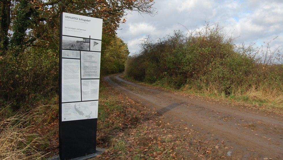 Grenzweg am Mechower See, © Politische Memoriale e.V.