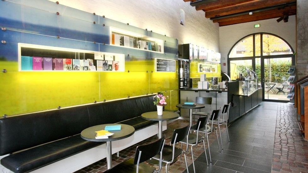 """Eingangsbereich des Literaturhauses Uwe Johnson, © Literaturhaus """"Uwe Johnson"""", Silke Winkler"""