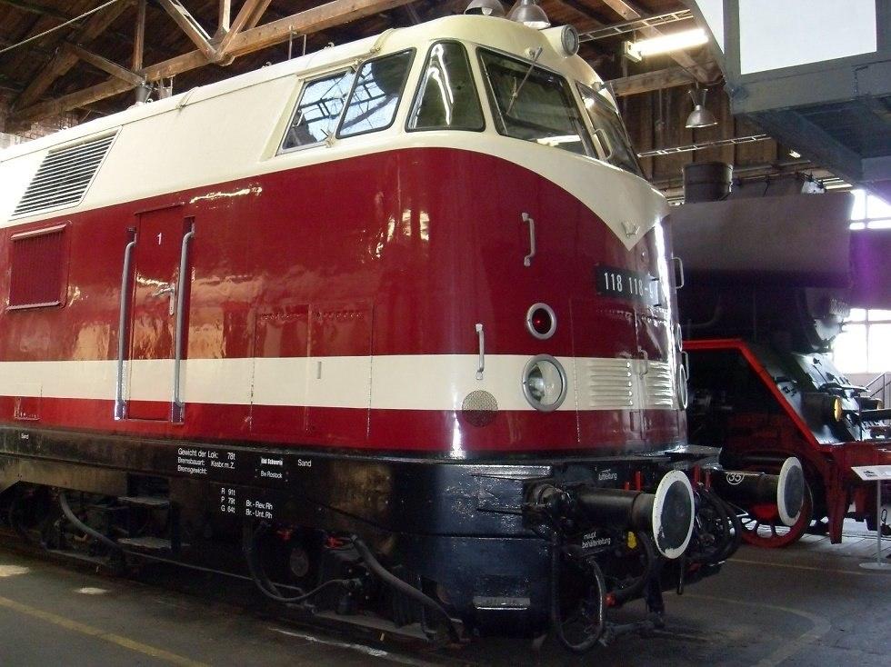 Diesellokomotive 118, © MEF, Klaus-Dieter Voß