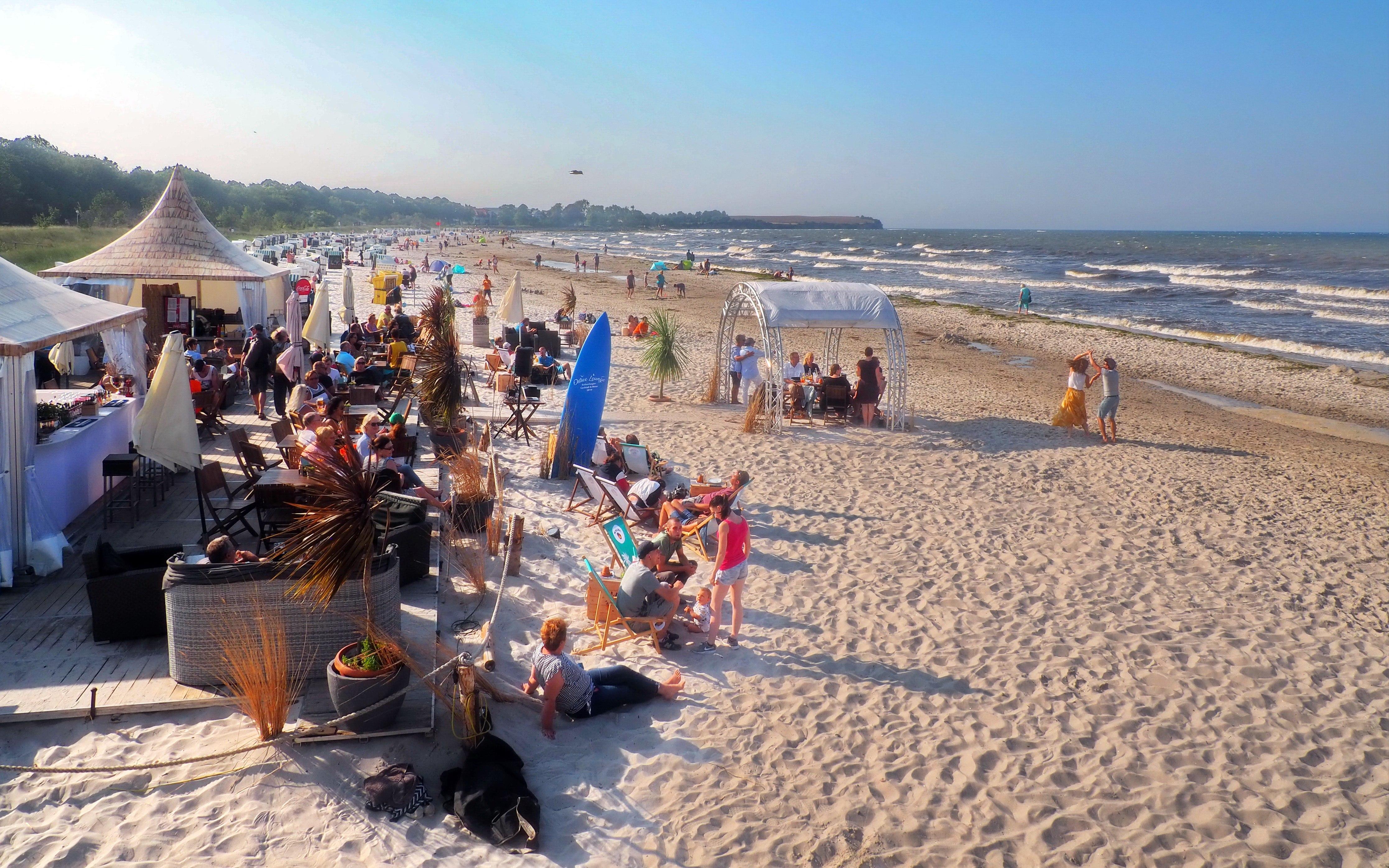 Beach Lounge Boltenhagen - Die Lage, © KV Boltenhagen