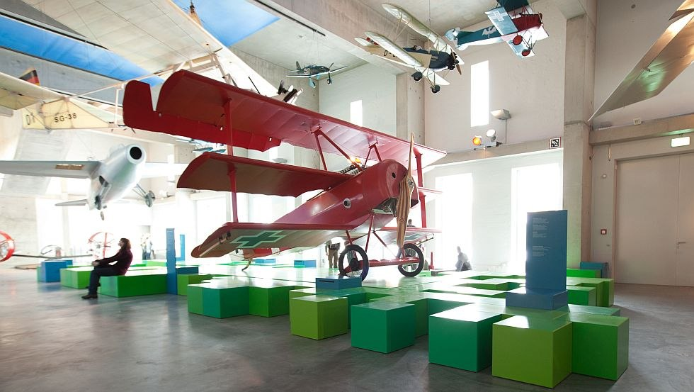 Lufthalle - Fliegerei und Flugzeugbau in MV, © TLM