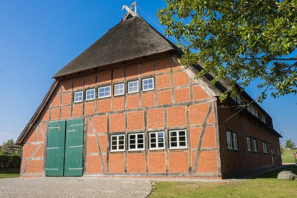 Die Bauernscheune dienst als Bürgerzentrum., © Frank Burger