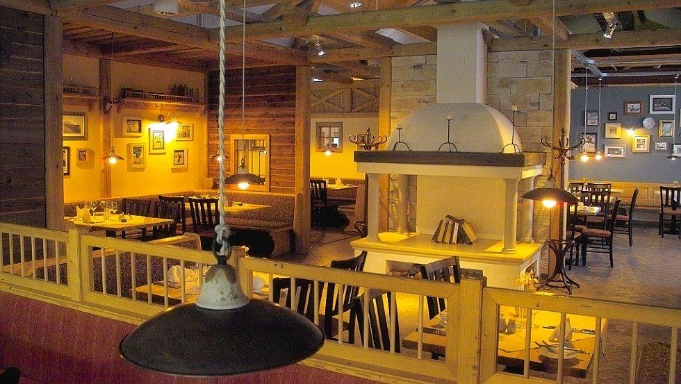 Das Restaurant Kupferdachl, © alpincenter Hamburg-Wittenburg